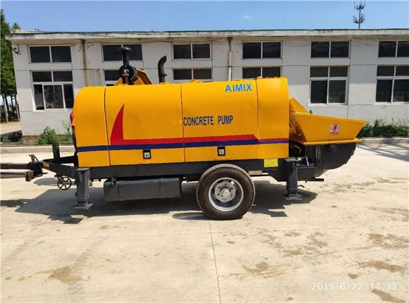 high quality diesel concrete pump