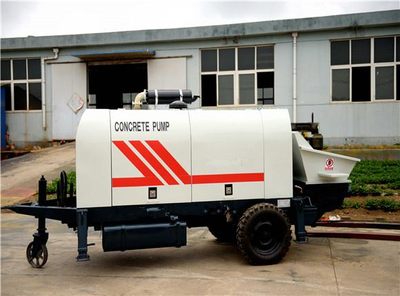 wide application of concrete pump