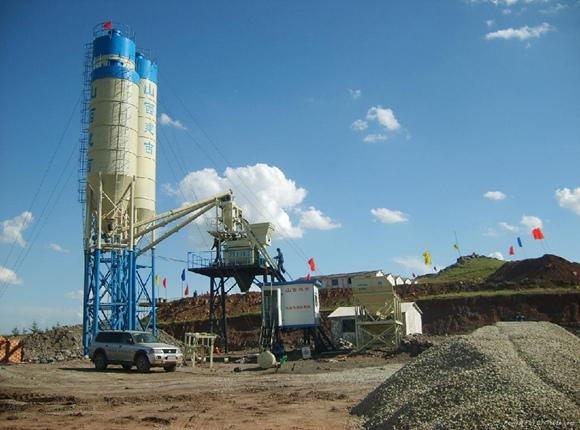 AJ-50 Concrete Batching Plant