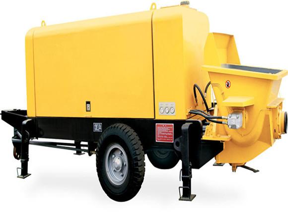 Standard Trailer Concrete Pump For Sale