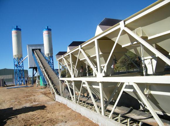 High Standard Concrete Batching Machine