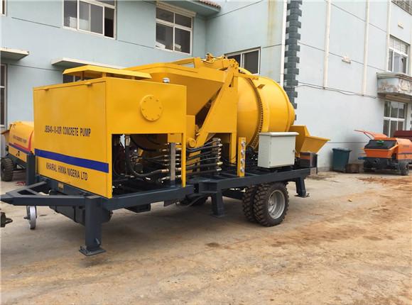 professional diesel concrete pump