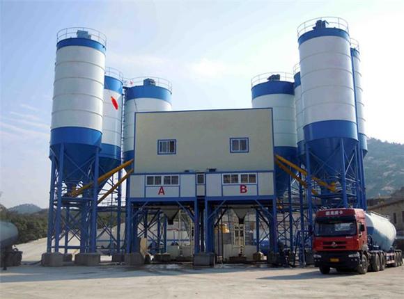 AJ-240 Concrete Batching Plant