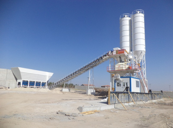 AJ-60 Concrete Batching Plant for Sale
