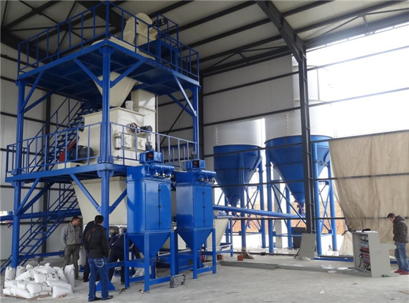 Full Automatic Dry Mortar Plant