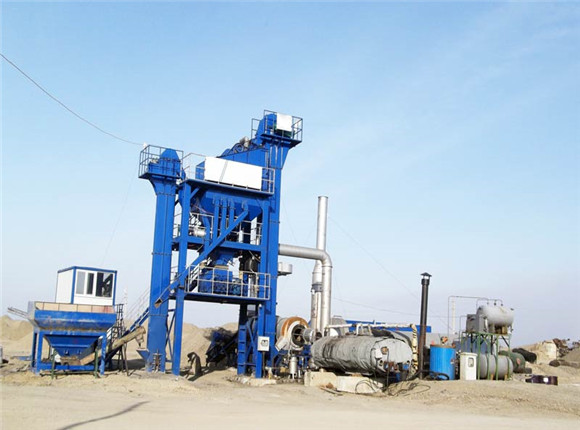 Small Asphalt Hot mix Plant