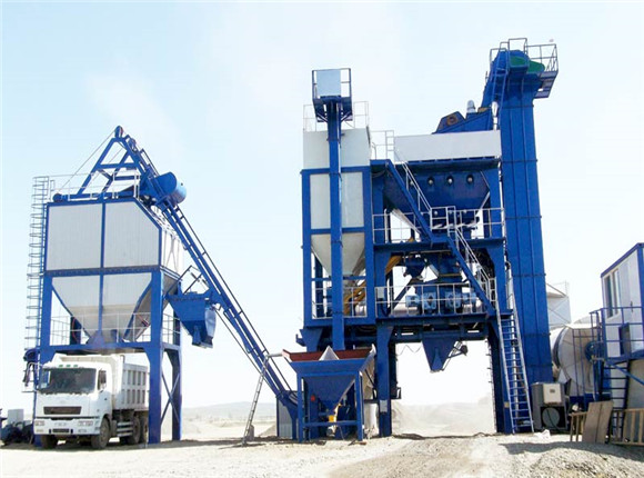 Large Asphalt Hot Mix Plant