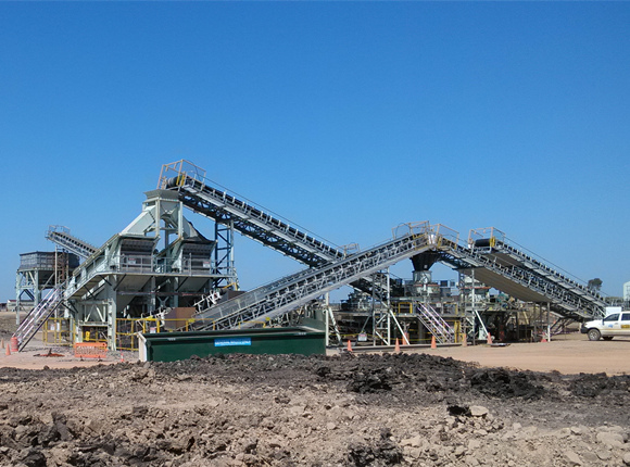 Stationary Crusher Plant