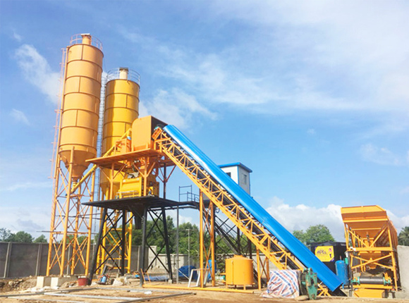 AJ-60 Fully Automatic Concrete Batching Plant