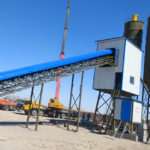 AJ-90 Concrete Batching Plant Installation In Uzbekistan
