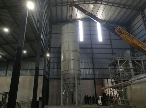 20 ton dry mortar plant